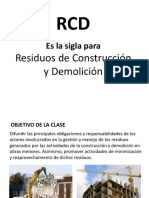 1. Residuos de Construcción