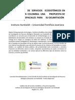 Evaluación de servicios ecosistémicos en humedales en Colombia una propuesta de insumos espaciales.pdf