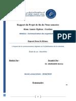 L'impact de la communication digitale sur la fidélisation de la clientèle.docx
