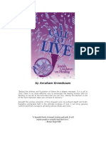 Avraham Greenbaum - A Call to Live