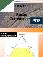 13 Rocas Carbonatadas