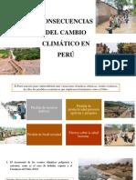 Consecuencias Climaticas PERU