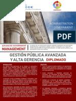 Diplomado Gestion Publica Avanzada y Alta Gerencia