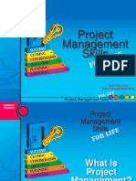 Project  management skills for life