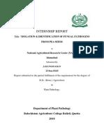 Internship Report Jahangir Khan 2018