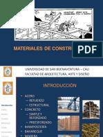 CLASE10 Materiales de Construccion
