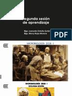 2. SEGUNDA SESIÓN TEÓRICA DE MICROBIOLOGÍA. 20018 - I.pdf