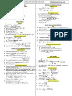 SDET Formulae MidSem2 2018 Ver3