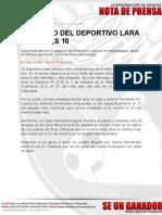 Deportivo Lara en El Mes 10