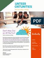 Volunteer Newsletter April 2019