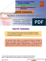 Tacto Vaginal Martes