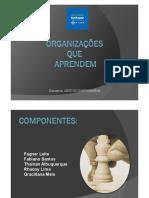 Organizacoes Que Aprendem