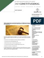 Concepto, Contenido y Fuentes Del Derecho Constitucional - Derecho Constitucional
