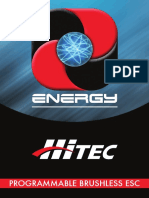 HiTec Energy sport ESC Manual