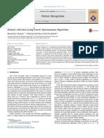 Feature Selection Using Forest Optimization Algorithm