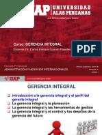 Gerencia Integral, Semana 1, Adm Ni
