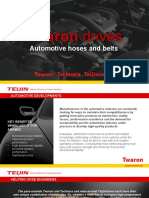 Automotive Hoses and Belts Materials