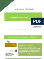Estados Administrativos