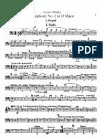 Mahler Symphony No. 1 Bassoon I