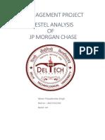 JP Morgan & Chase PESTEL analysis