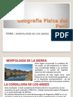 morfologia de los andes