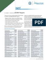 Package Insert-JTBaker Analytical Reagent Kit-9030