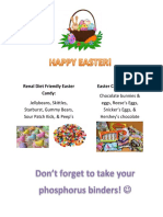renal diet friendly easter candy