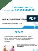 Capacitaciones EN Debate JCI