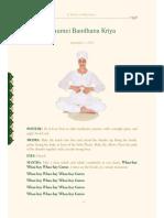 Haumei Bandhana Kriya Kundalini Yoga