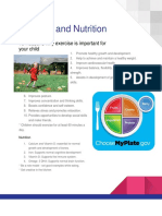 exercise and nutrition  2