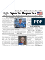 April 17 - 23, 2019  Sports Reporter