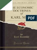 Karl Kautsky - The Economic Doctrine of Karl Marx.pdf