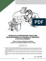 Dialnet-InfluenciaDeLasRepresentacionesSocialesSobreEvalua-5249835