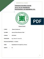 Informe diseño geotecnico