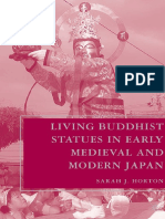 Living buddhist statues in early medieval and modern japan.pdf