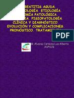 Pancreatitis Aguda Dr. Alvarez