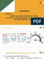 Sesión N° 2 ANALISI VERTICAL Y RATIOS.pdf