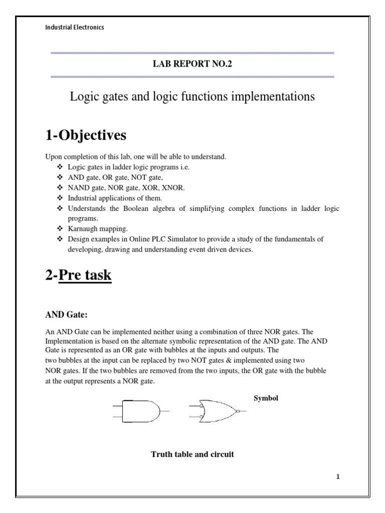 Ladder Logic Diagram Nand Gate | Wiring Library
