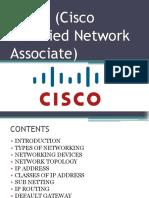 CCNA (Cisco Certified Network Associate).pptx