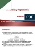 Clase Funciones Procedimientos