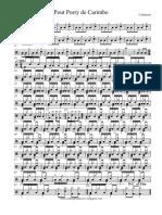 Pout-Pourri Carimbo Calypso - Percussão