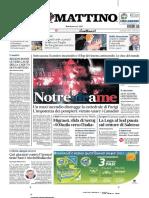 Il Mattino 16 ottobre 2019 (Notre Dame in fiamme).pdf