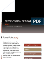 Novedades PPoint 2007