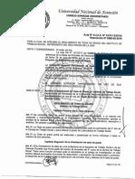Resolución N° 0566-00-2015. Reglamento de Tesis ITS UNA