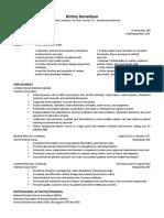 nurs 242 resume