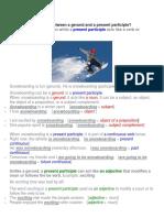 gerund vs participle