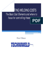Welding Costs Ullman
