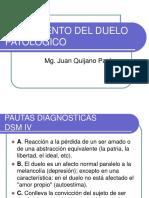 TRATAMIENTO DEL DUELO PATOLOGICO.ppt