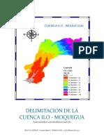 Informe de La Cuenca Ilo-moquegua