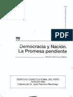 Manrique - Democracia y Nación
